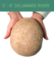5-8 inches Delaware River Stone