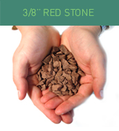 3/8 Red Stone